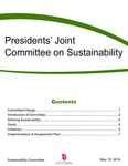 Presidents' Joint Committee on Sustainability by Department of Sustainability, University of South Dakota