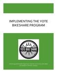Implementing the Yote Bikeshare Program by Amanda Hegg, Brooke Wigdahl, Maggie Squyer, Aidan Beck, Jason Emmick, and Jordan DeBoer