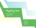 Recycling Team Project Summary
